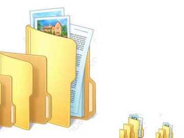 Dossiers - dossiers et fichiers d'ordinateurs personnels