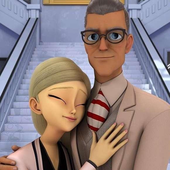 Tu widać Gabriela i Emilie Agreste - łatwizna naprawdę super!!!!!!!!!1