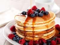 SÜSS :) - Pfannkuchen zum Frühstück!