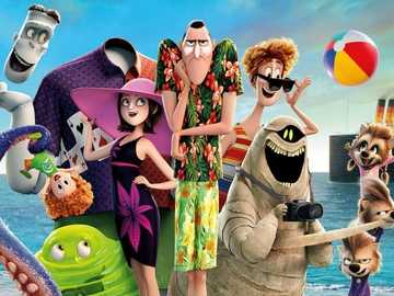 Hotel Transylvania - Hotel Transylvania - American 3D animated film, produced by Sony Pictures Animation studio commissio