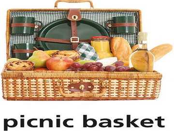 p is for picnic basket - lmnopqrstuvwxyzlmnop