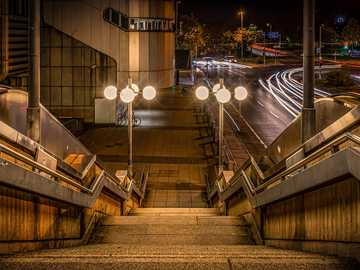 night photography - Urban landscape at night