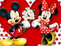 Mickey Mouse en Minnie