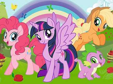 My Little Pony - I recommend watching this story.