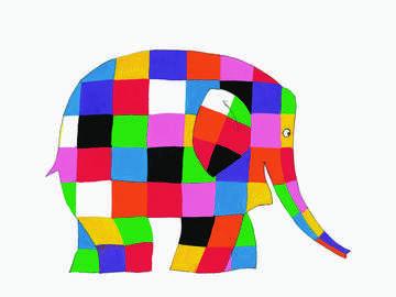 Elmerl'elefante - The elefantinovariopinto