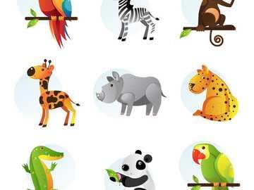 ANIMALES AEROTERRESTRES - UNE LAS PIEZAS Y DESCUBRE LOS ANIMALITOS