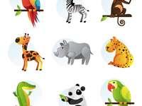 ANIMALES TERRESTRES - UNE LAS PIEZAS Y DESCUBRE LOS ANIMALITOS
