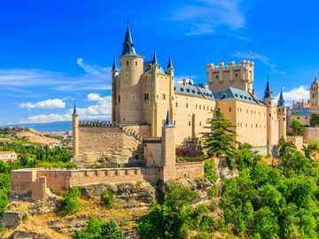 Zamek Alcázar de Segovia, Hiszpania - Zamek Alcázar de Segovia, Hiszpania