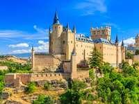 Alcázar de Segovia slott, Spanien
