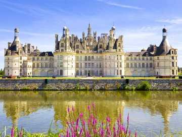 Zamek Chambord, Francja - Zamek Chanbor, Francja