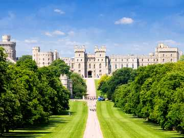 Zamek Windsor, Anglia - Zamek Windsor, Atglia