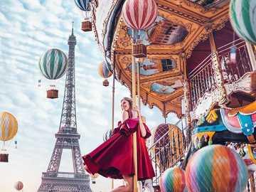 Karuzela w Paryżu - Carousel στο Παρίσι