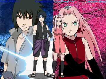 Naruto Shippuden - our characters favorited together