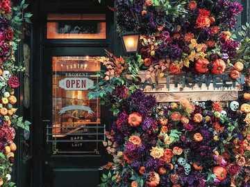 Λουλούδια  - Είσοδος στο κατάστημα