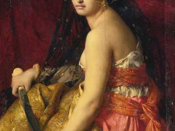 """""""Judith"""" Gabriela Ferriera - """"Judith"""" Gabriela Ferriera. Według Starego Testamentu Holofernes jest asyryjskim generałem zam"""