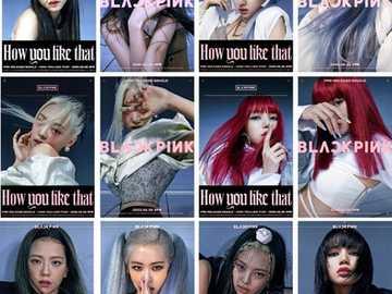 blackpink comment tu aimes ça - howp like that blackpink affiches