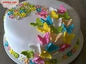 Ciasto motyla i kwiatu =) - Ciasto motyla i kwiatu =)
