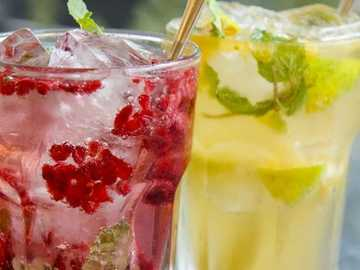 Szklanka orzeźwienia - Ένα ποτήρι αναψυκτικό