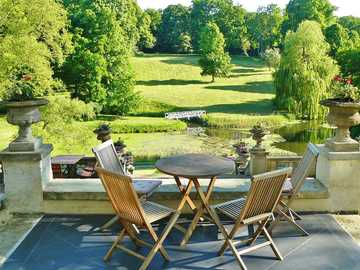 terrace with a view - terrace with a view of the green park
