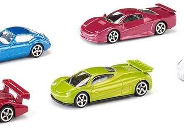 Puzzle samochodowe - Prosta łamigłówka dla 3-latków.