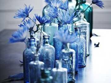 Μπλε  - Μπουκάλια αραβοσίτου