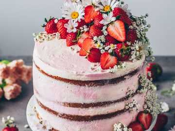 Tort truskawkowy - Γιάμ γιάμ