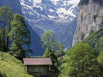 Switzerland. - Swiss landscape.