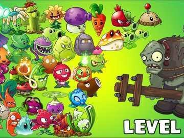 zombies2 - puzzle rośliny kontra zombie dla dzieci