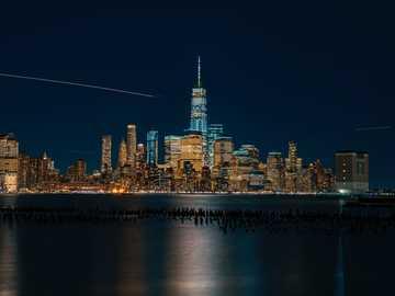 30 sekund - Fotografia poklatkowa wieżowca. Nowy Jork, Stany Zjednoczone
