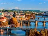 Poduri pe râu. Praga