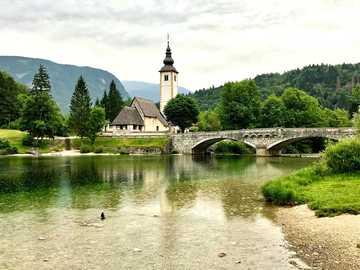 Bohinj, Slovenia - Bohinj, Slovenia - landscape