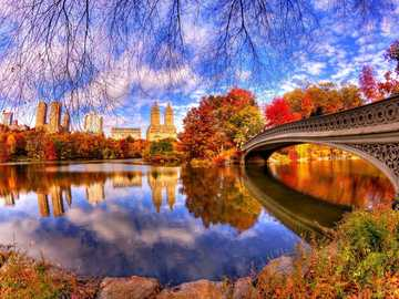 New York, USA - New York, USA in the fall