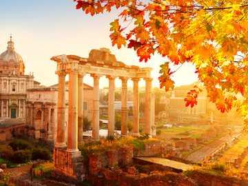Roma, Italia - Roma, Italia en otoño