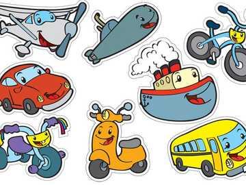 środki transportu - uczyć się środków transportu