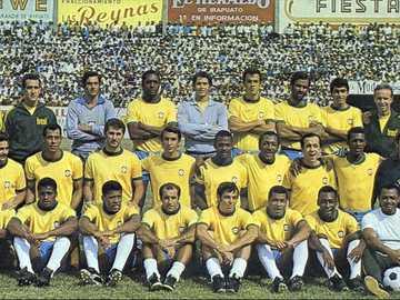 Reprezentacja Brazylii w 1970 roku - Reprezentacja Brazylii - Meksyk 1970