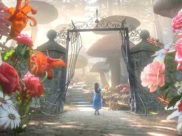 FIORI NEL FILM - Alice nel paese delle meraviglie Rose Conosciamo tutti la storia della Regina di cuori che chiede ro