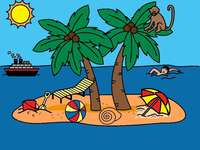 île de vacances