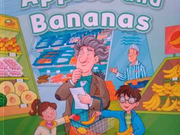 apples and bananas - capa do livro apples and banans.