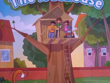 domek na drzewie - capa do livro domek na drzewie