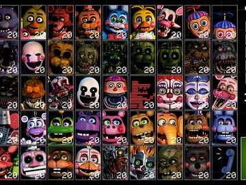 ucn puzzle - utimate custom night