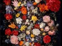 Jan Brueghel - Blumenvase mit Juwel