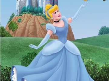princesa de Disney - Este rompecabezas es sobre la princesa de Disney