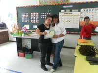 Rosita reçoit son diplôme