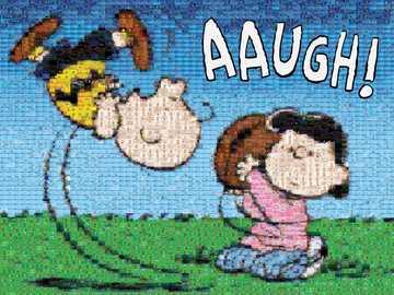 Peanuts Photomosaic: Good Grief Charlie Brown - Een van de meest geliefde stripverhalen ter wereld kan nu generaties lang als een gekoesterde puzzel
