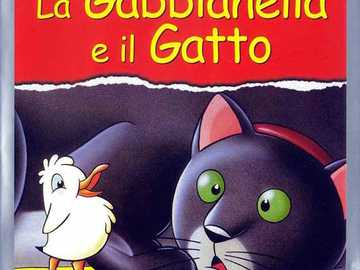THE GABBIANELLA AND THE CAT - RESTORE THE PUZZLE AND YOU WILL DISCOVER THE TITLE OF THE FILM WE WILL SEE