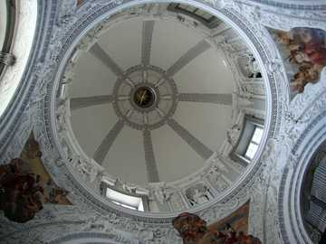 Lithuania - Vilnius - Dome of the Kazimierz Chapel in the Vilnius Cathedral