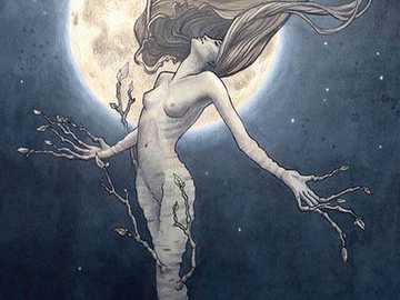 Cancer et la lune - Energia z Lune i rak Cancer dans unal the natal apporte sensible, afektywny, empatyczny, udoskonalon
