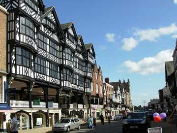 Chester Street - English city of Chester