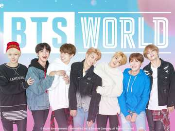 BTS WORLD puzzles - Assemble this puzzle of your favorite idols