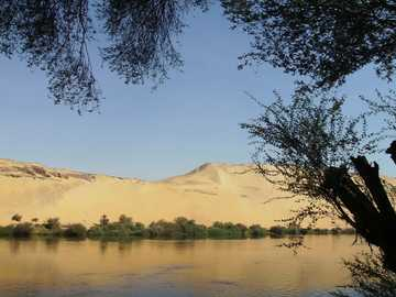 By boat on the Nile - By boat on the Nile - Elefantyna